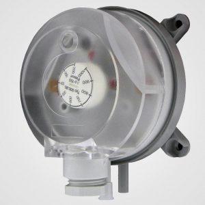 Pressure sensor switch for gas interlock