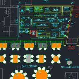 Kitchen planning CAD design