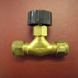 Mini pilot valve with black knob