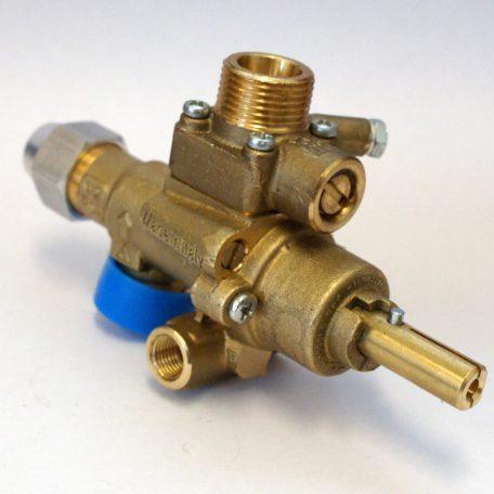 CE PEL Alphabrass wok burner gas valve (vertical)