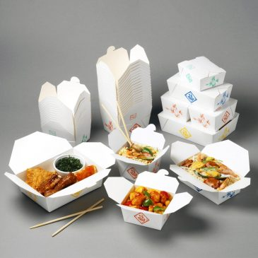 VIP cardboard box takeaway food container