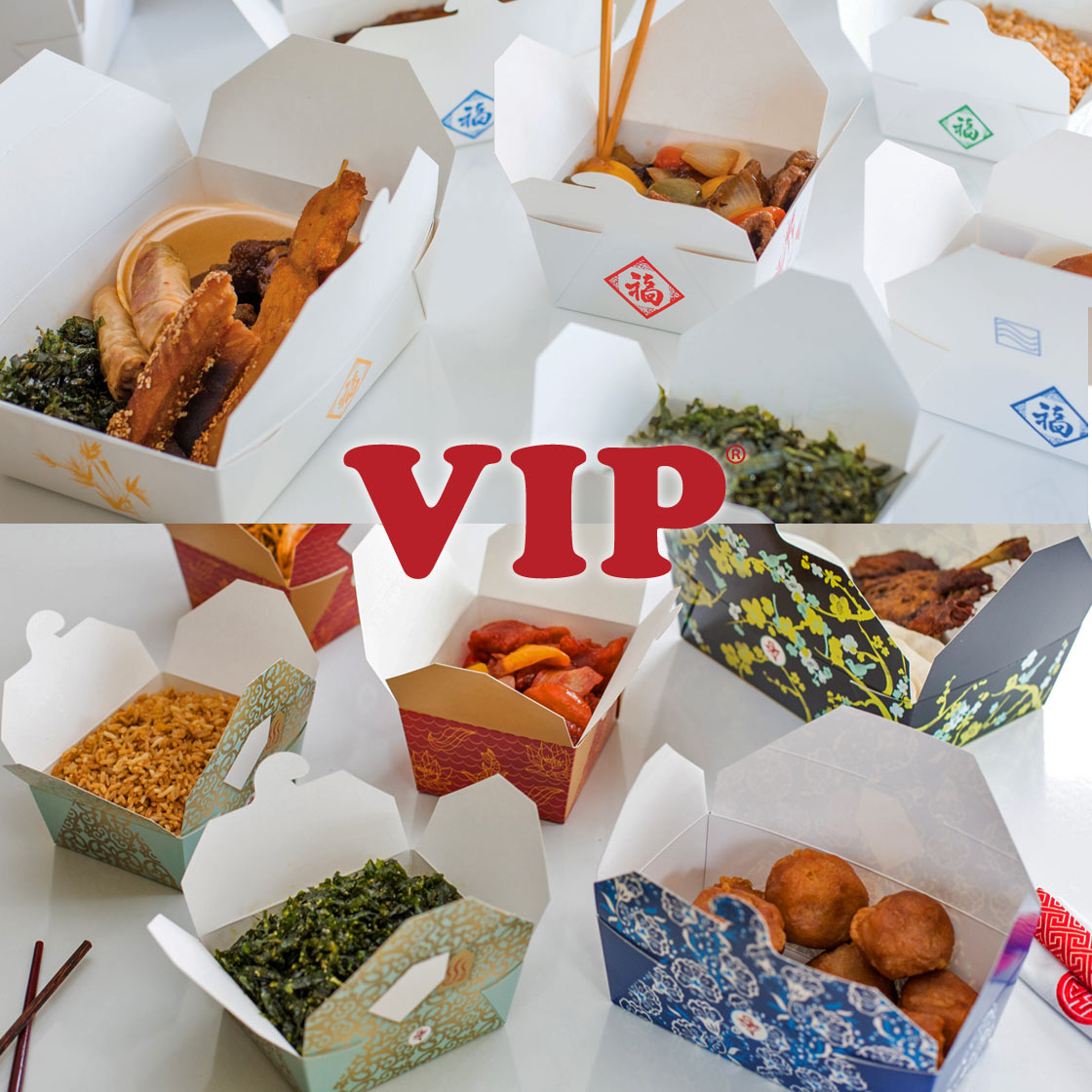 VIP takeaway packaging