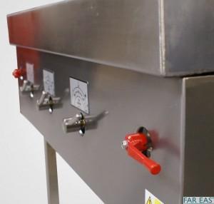 CEFT recessed lever valves