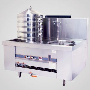 YPT ECS-2E Environmental single dim sum steamer