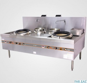 YPT Guandong twin Flamemate Turbo wok cooker