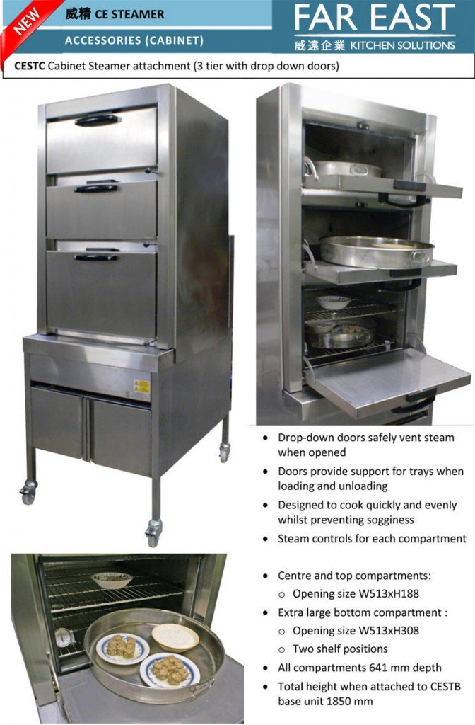 Steamer cabinet now in production | Far East 威遠企業