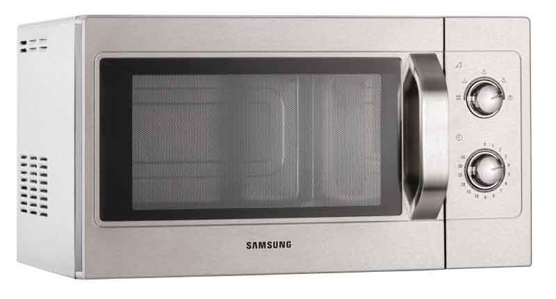 only 240vat rpp 429 light duty 1100w with 3 year warranty - Samsung Microwaves
