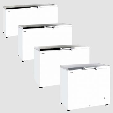 Tefcold GM SS stainless steel chest freezer