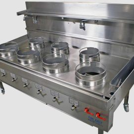 CEFT wok cooker range