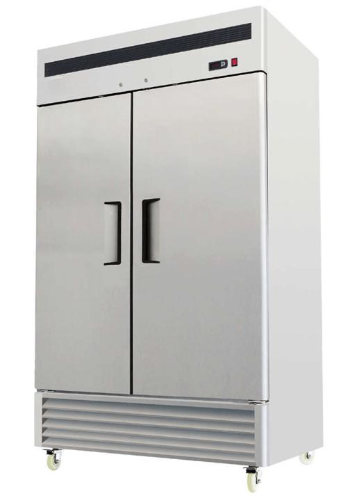 FMBF8187 FMBF8183 Upright gastronorm tropical double door fridge freezer