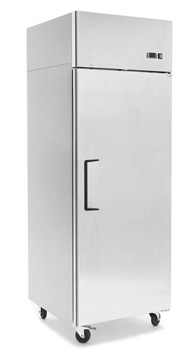 FPBF9206 FPBF9207 upright fridge freezer single door slim