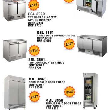 Saladette counter fridge special offer