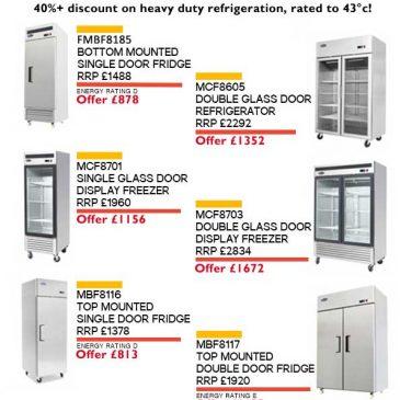 April 2017 refrigeration offer heavy duty uprights