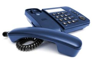 phone off hook landline