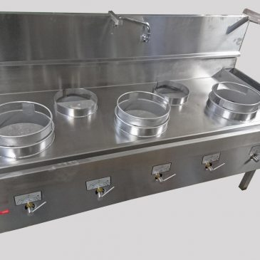 Special size reduce depth extra wide cooker