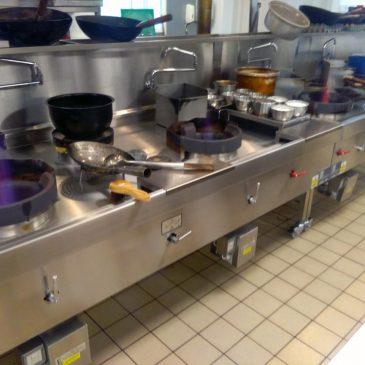 Bawtry turbo wok range cooker