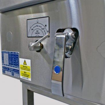knee tap water saving wok cooker detail