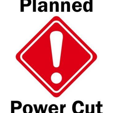 planned power cut