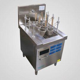 Induction noodle pasta boiler automatic lift