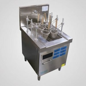 Induction noodle pasta boiler automatic lift